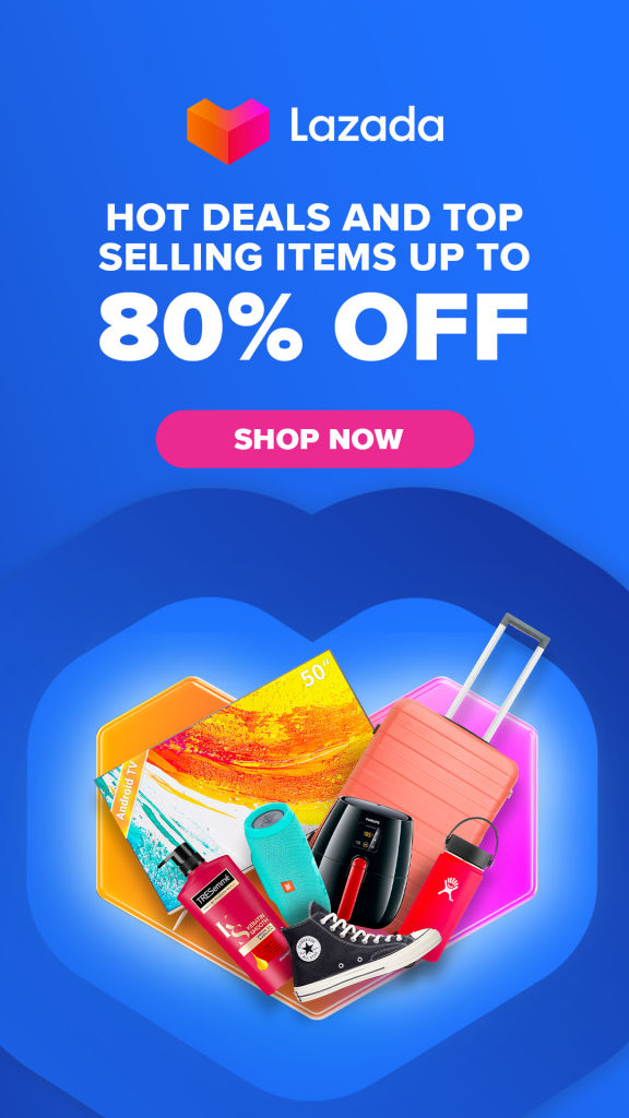 Lazada 80% Discount