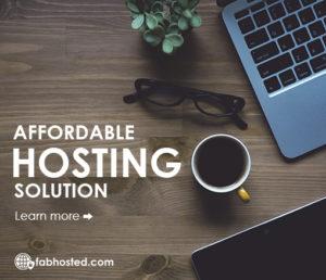 Affordable Hosting Solution